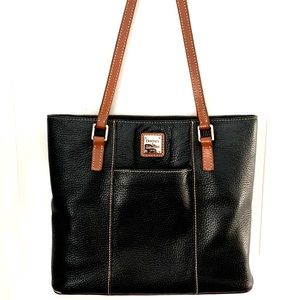 Dooney & Bourke Charleston Black Leather Tote